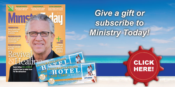 Ministry Today - Give a gift or subscribe today!