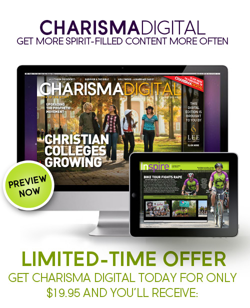 CharismaDigital - Get more spirit-filled content more often